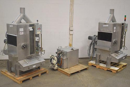 TDS Technologies linear spray box system, Wood treatment spray boxes