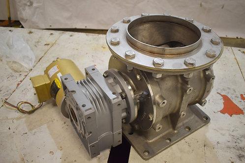 "DMN Westinghouse ,stainless steel10"" feeder rotating valve"