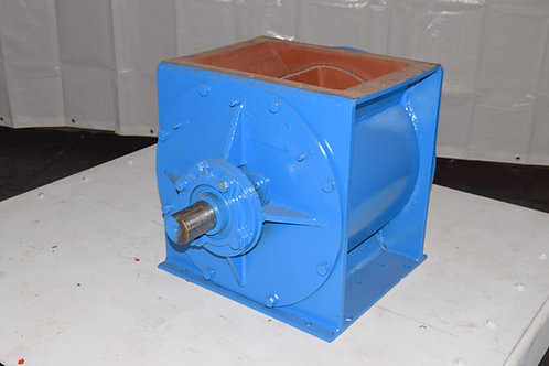 "Rader feeder, rebuilt 16""x10"" metal wheel rotary valve"