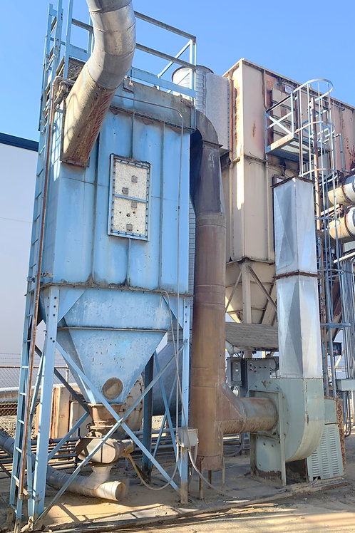 Torit Donaldson 48 filter bags dust collector, Torit Donal0HP pulse jet baghouse