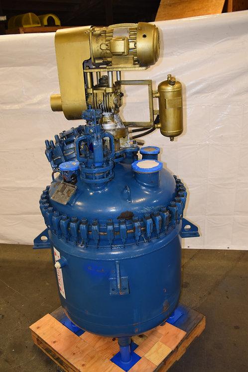 De Dietrich reactor 150 gallons, used De Dietrich reactor re-glassed lined pilot