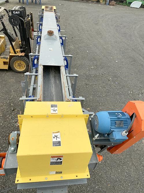 "Used 23 ft long  X 18""wide belt conveyor, Thomas Conveyor Company used 23' inc"