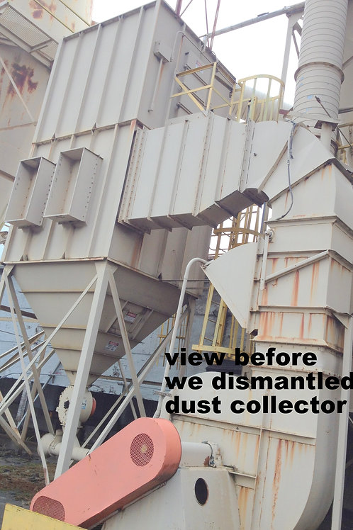 Donaldson Torit HPW 160 pulse jet baghouse, 16,000 to 25,600 CFM Dust collector