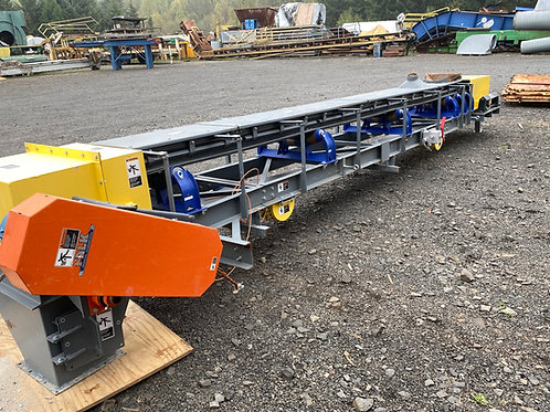 "used 20 ft+ x 18"" belt conveyor  convers"