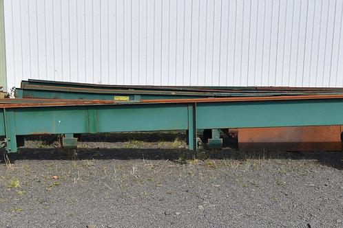 "30ft +- long x 13"" wide trough belt conveyor"
