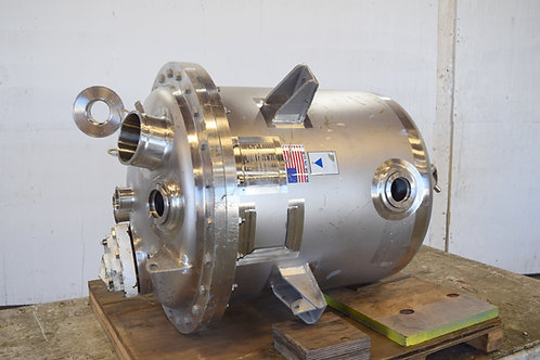 Precision Stainless Inc., 100 gallon stainless tank vessel
