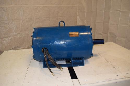 300 HP open drip electric motor