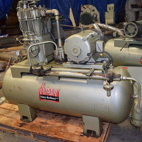 Quincy 10 HP air compressor, model 340
