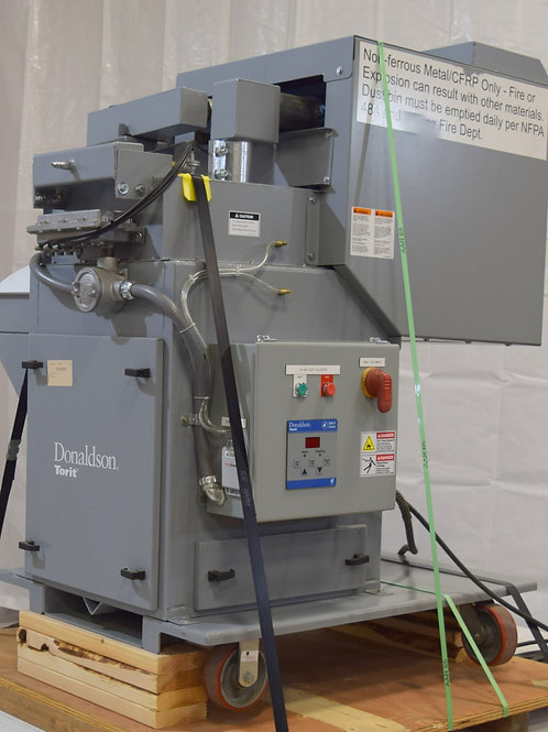 Used Donaldson Torit TD3-54 SEP-300 pulsejet dust fume collector