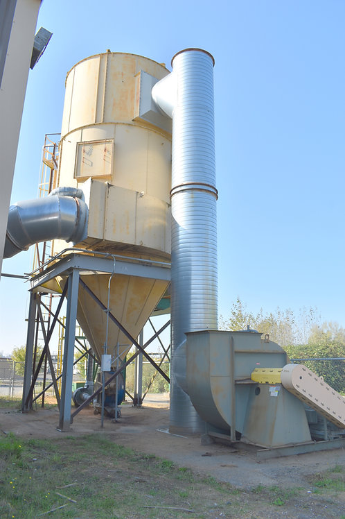 Pneumafil baghouse dust collector, Used 46,000 CFM dust collection system
