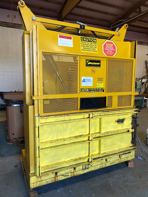 Harmony M60MD Vertical Baler low profile 8ft tall