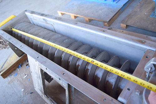 """12""""stainless screw auger , 6ft stainless screw conveyor length"""