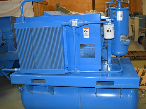 15 hp Quincy Northwest 50 cfm rotary screw air compressor, f15-v