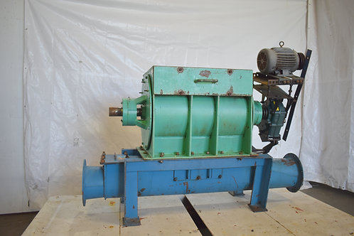 Metal wheel rotating valve feeder