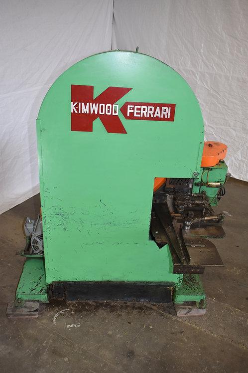 "Kimwood Ferrari vertical resaw, used Ferrari 42""band re-saw,"