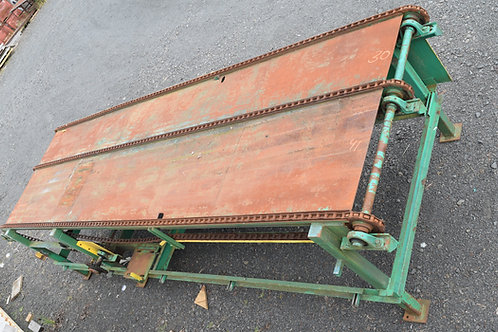 """22ft long three strand chain Transfer deck  with """"S"""" drive"""