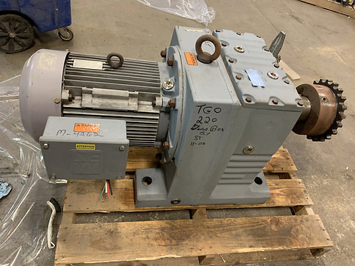 11 RPM 20HP gear motor,  Sew Eurodrive