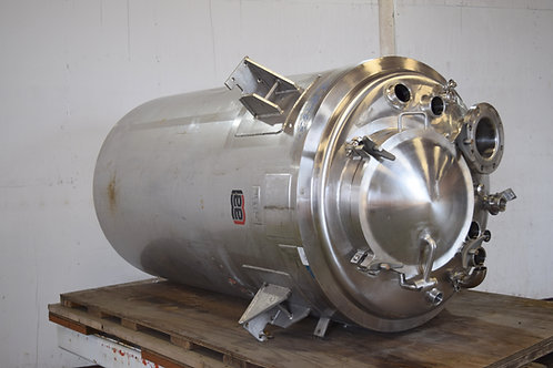 321 gallon/264 gallon stainless jacketed vessel, used stainless jacketed tank