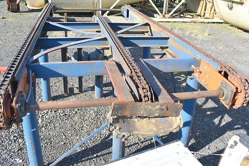 3 strand 78 chain infeed transfer, 16 ft