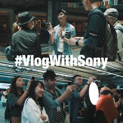 #VlogWithSony