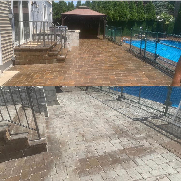 Backyard Cleaning - Above All Pressure Cleaning