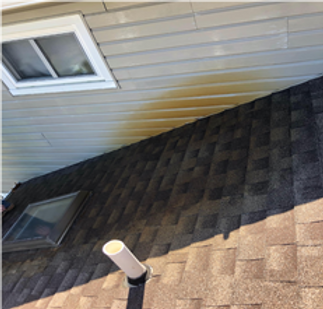 Rust on Roof - Above All Pressure Cleaning