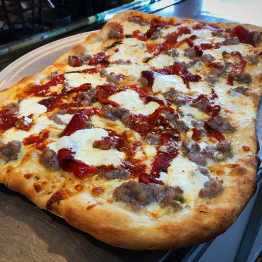 Ricotta, Red Peppers, Sausage