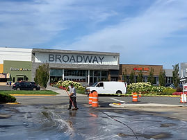 Broadway Mall Cleaning - Above All Pressure Cleaning