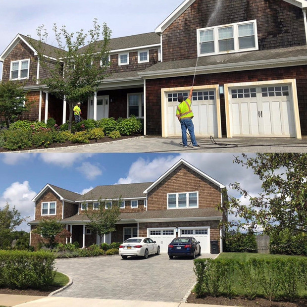 Outdoor wood cleaning - Above All Pressure Cleaning