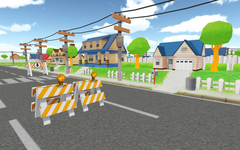Cartoon Village 03