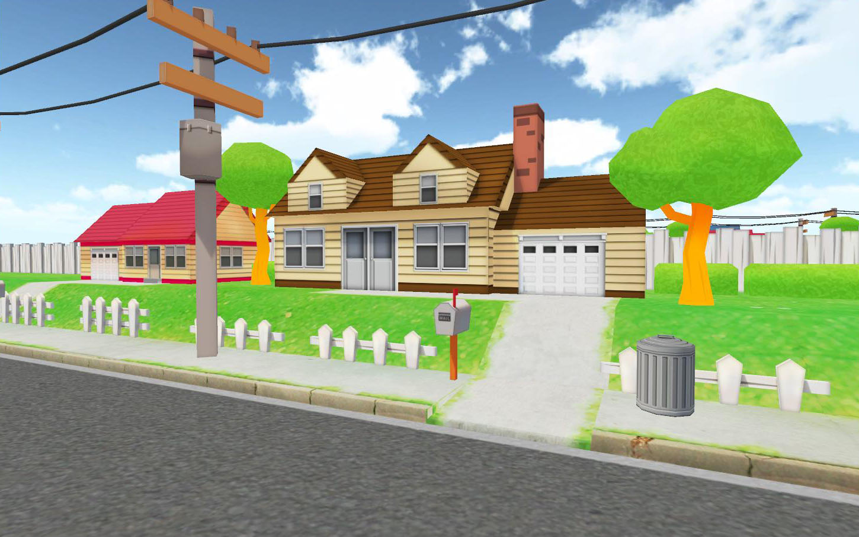 Cartoon Village 05