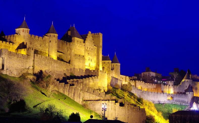 Projet en cours: Cité de Carcassonne
