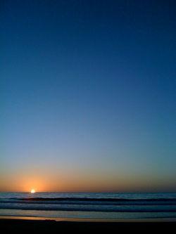imperial beach sunset (somber) 1