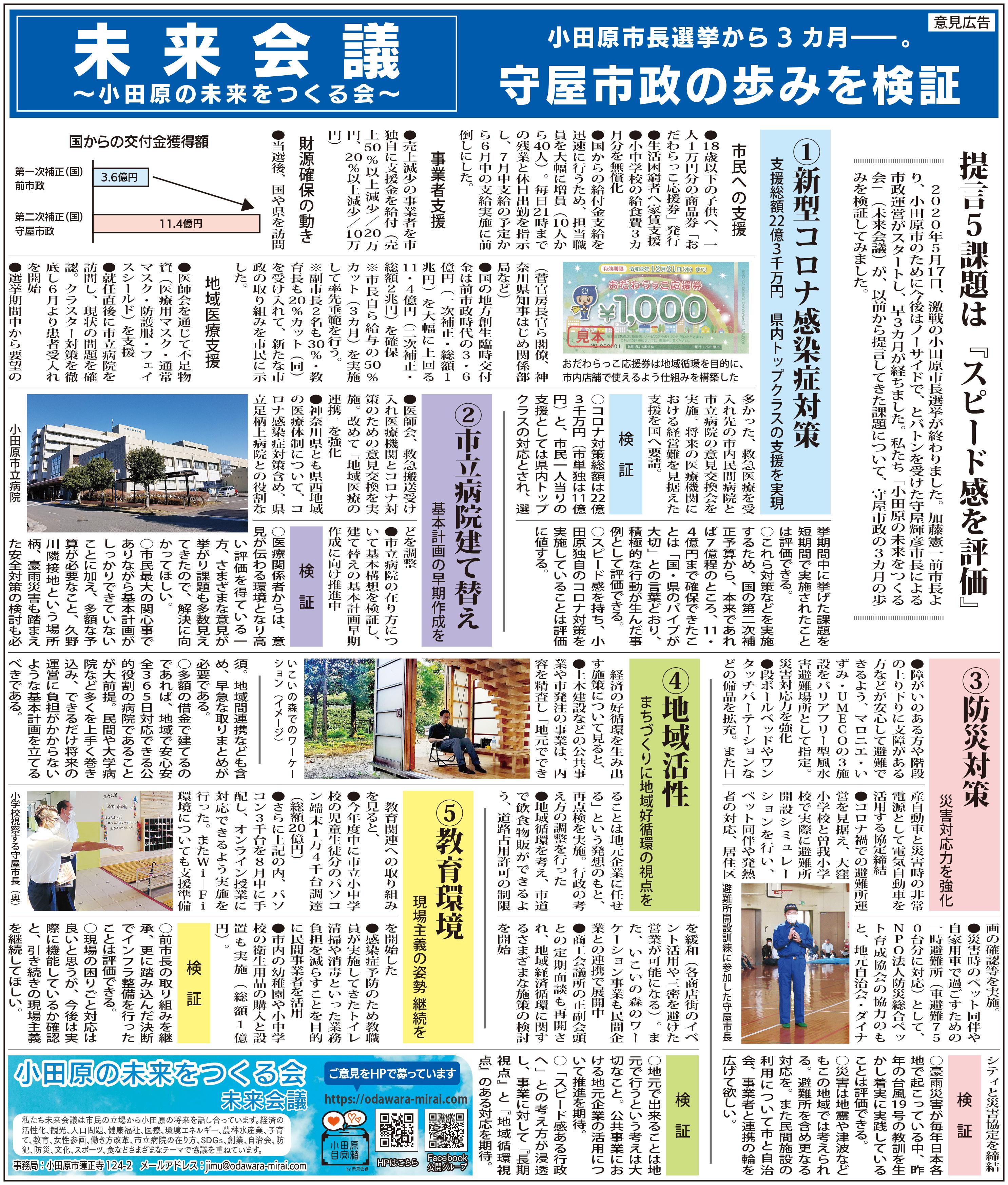 タウンニュース2020年8月29日号