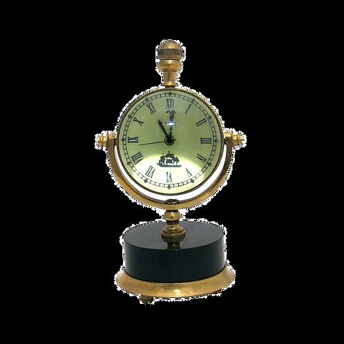 Relógio de mesa em Metal bronze