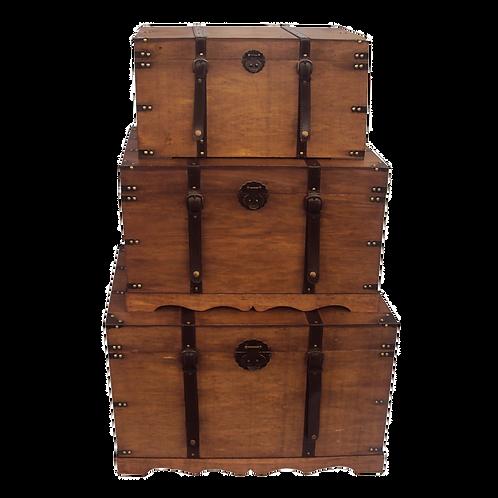 Baús de madeira - Vendidos separadamente