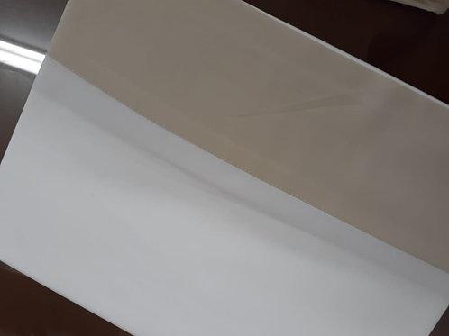Conjunto lençol branco king