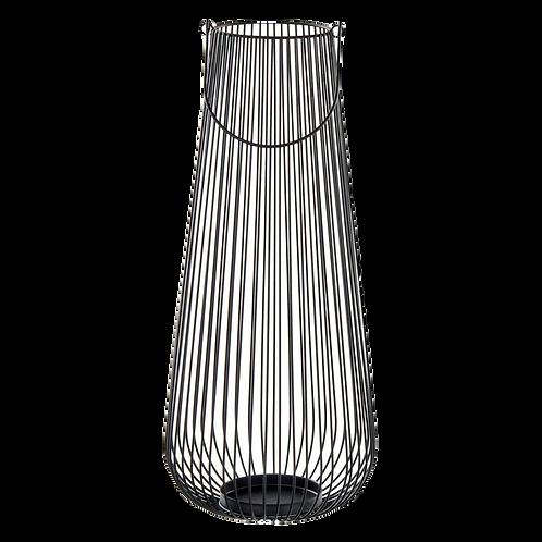 Lanterna de Metal Preta