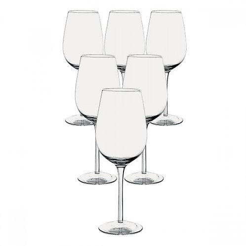 Kit com 6 taças para Vinho