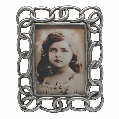Porta retrato Elos prata 13 x 18