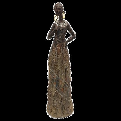 Figura decorativa Africana