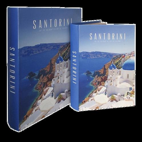 Caixas formato Livro SANTORINI