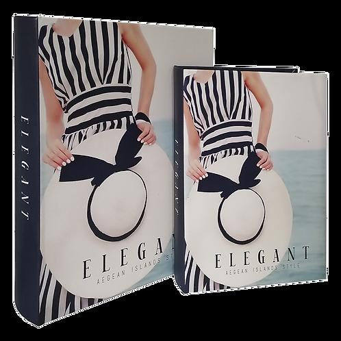 Caixas formato Livro ELEGANT