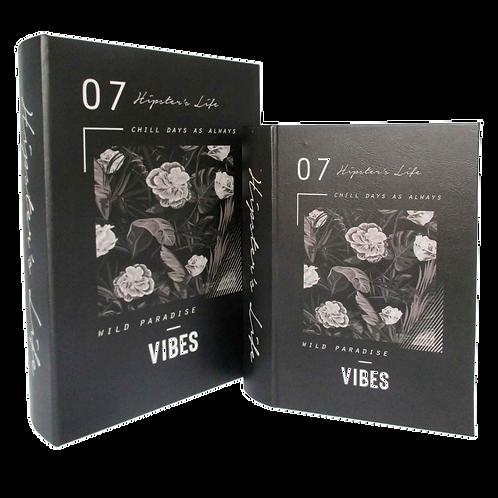 Caixas formato Livro VIBES