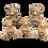 Thumbnail: Ursos decorativos para quarto infantil