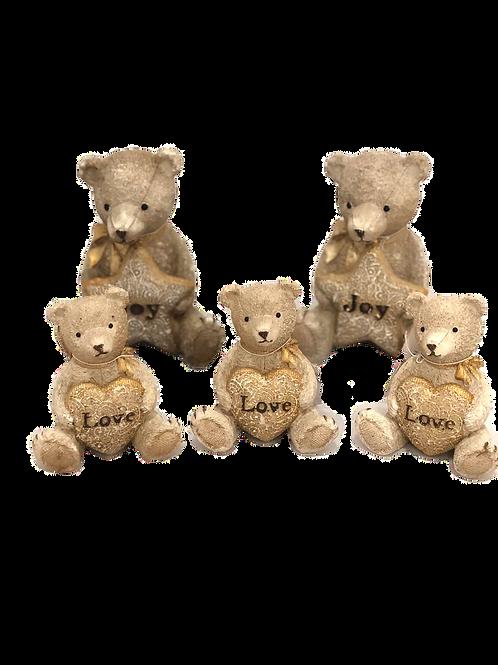 Ursos decorativos para quarto infantil