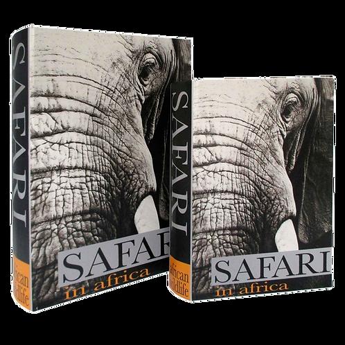 Caixas formato Livro SAFARI