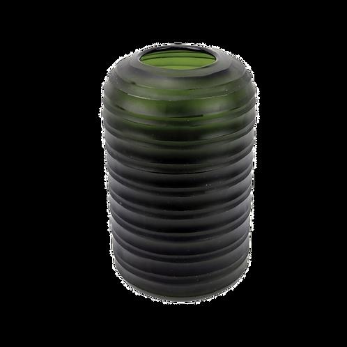 Cachepot de vidro Verde