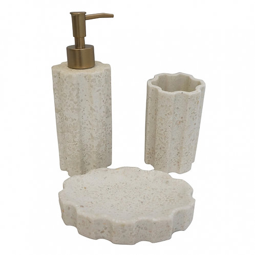 Kit Banheiro Branco