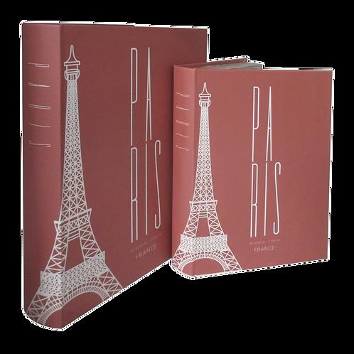 Caixas formato LivroPARIS